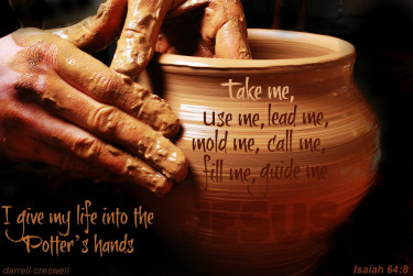 God our Potter