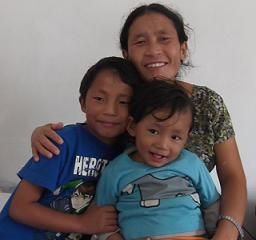 Binda and children 1
