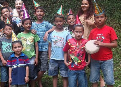 Allisa and Children