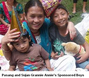 Grannie Annies boys