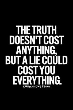 Truth not lies 1