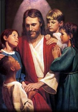 Jesus & Children 1